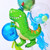 Dinosaur birthday balloons for jurassic fans and childrens birthday parties
