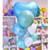 Oversized Mint Green and Blue Balloon Collection