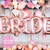 Hen party bride to be rose gold helium foil letter balloons delivered to your hen accommodation