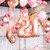 Rose gold Birthday Morning Surprise helium Balloon Collection delivered to you