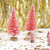 Decorative Mini Pink Christmas Trees