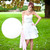 Giant white balloon party decoration for birthdays, weddings, photo booth backdrops, anniversaries, baby showers, hen parties.