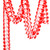 Red Tissue Paper Garland Decoration for Birthday Parties, Weddings, Baby Showers and Hen Parties