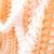 Orange Tissue Paper Garland