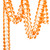 Orange Tissue Paper Garland Decoration for Birthday Parties, Weddings, Baby Showers and Hen Parties