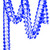 Dark Blue Tissue Paper Garland Decoration for Birthday Parties, Weddings, Baby Showers and Hen Parties