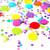 Rainbow multicolour tissue paper confetti