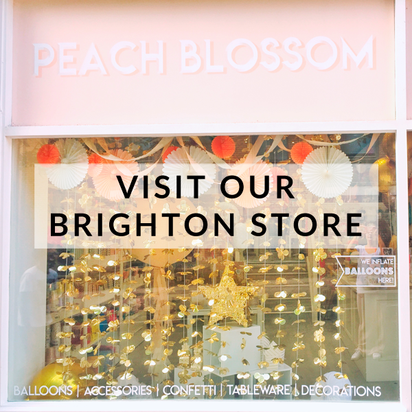 Visit Brighton's premier party store filled with stylish and modern party supplies and decorations