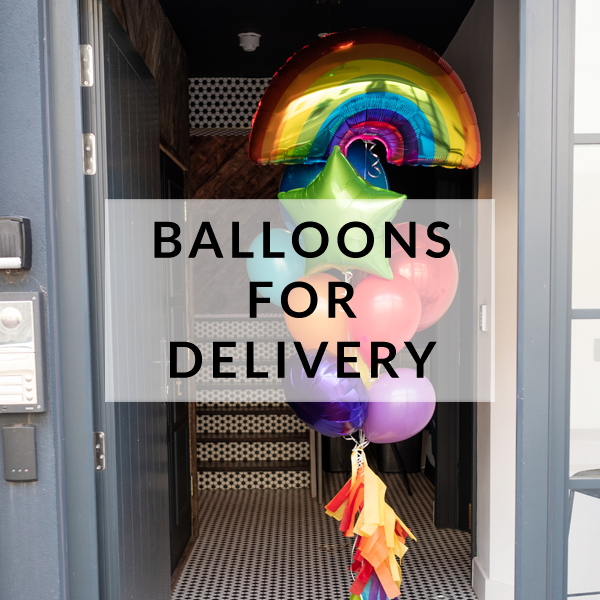 Beautiful and stylish party balloons delivered to you nationwide across the UK