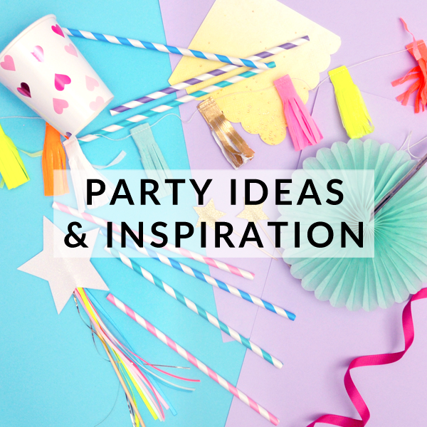 Check out our blog filled with party ideas and inspiration