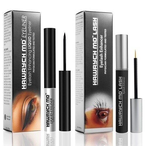hawrych md liquid eyeliner and eyelash enhancer set