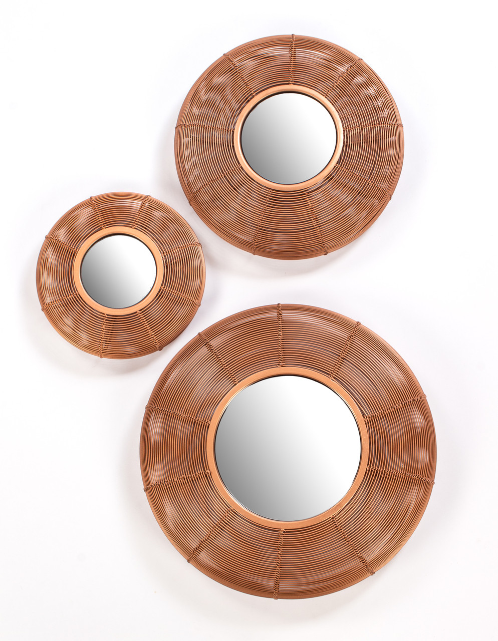Red Fig Home Antique Copper Wall Decor Set Of 3 Iron Hom166 Red