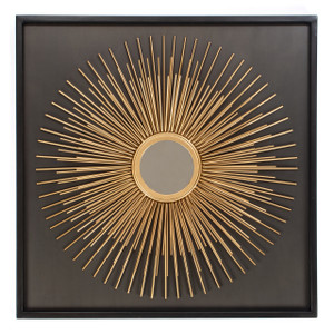 mirror wall art home décor mounted wall-mounted round gold framed big hallway decorative accent hanging hall centerpiece bed tin iron metal chrome rustic living room modern bathroom 3d contemporary unique vintage bedroom zen kitchen hang geometric