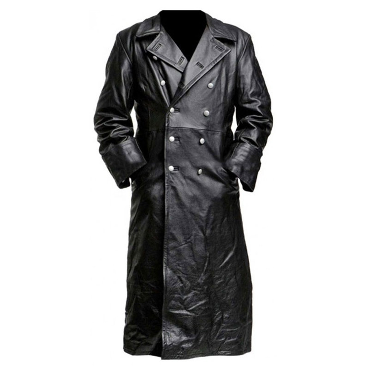 Nazi Leather Trench Coat