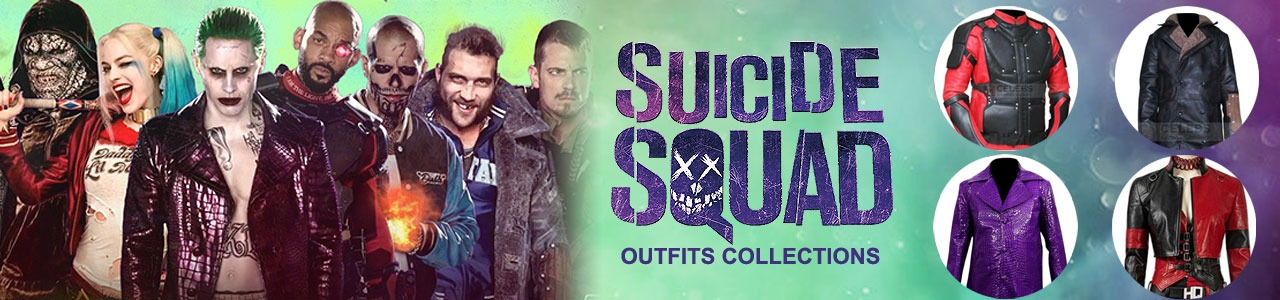 SUICIDE SQUAD OUTFITS COLLECTIONS