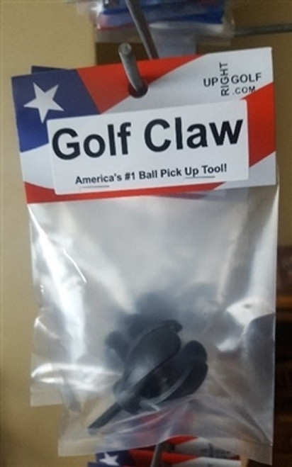 Golf Claw (Individually packaged) - (10) Retail Pks. - Unique Golf Ball Pickup Tool