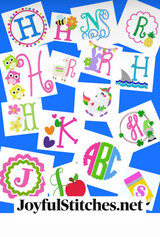 Machine Embroidery Designs that are cute and ready to stitch!