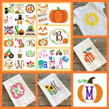 Fall Designs are blooming all over JoyfulStitches.net