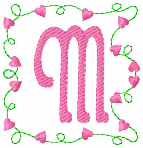 Heart Strings Monogram Set