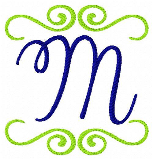 Southern Style Monogram Set 4