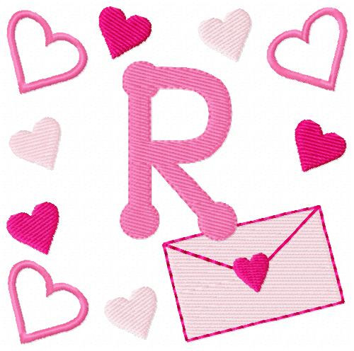 Love Letters Valentine Monogram Set