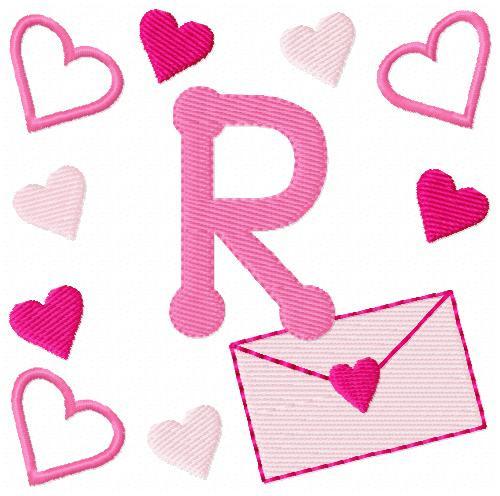 Love Letters Valentine Monogram Set