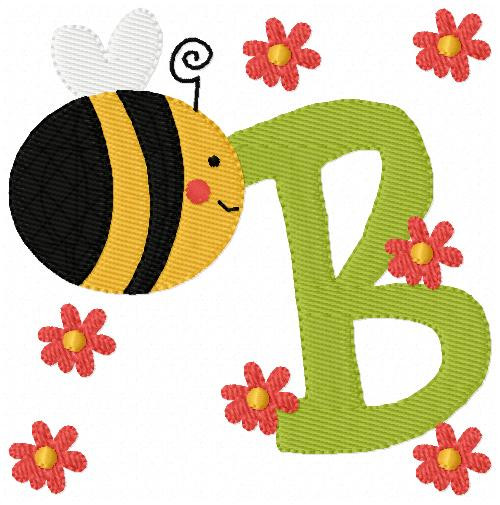 Bee Around Town Monogram Set