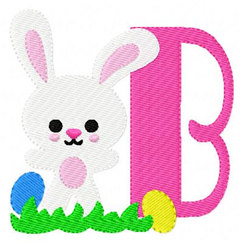 Bunny Day Easter Monogram Set
