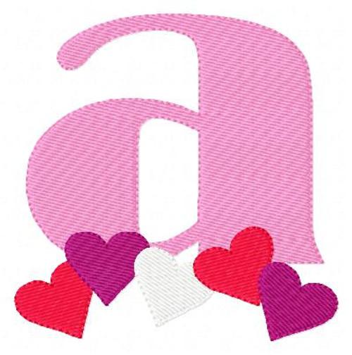 My Sweetheart Valentine Monogram Set