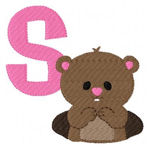 Groundhog Day Monogram Set