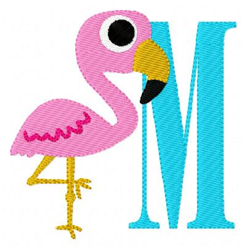 Flamingo 15 Monogram Set