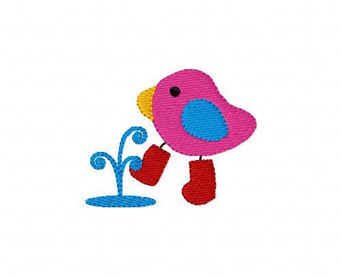 Rain Boot Birdie