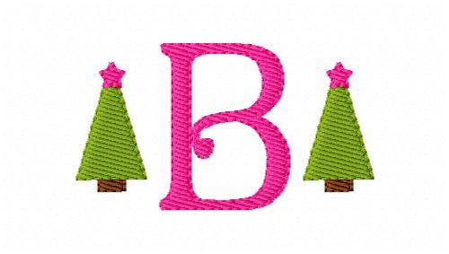 Christmas Tree Mini Monogram Set