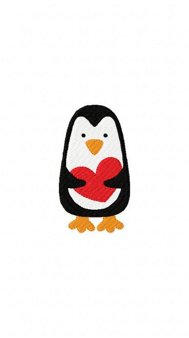 Penguin Heart Valentine