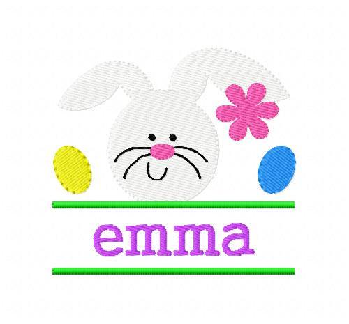 Easter Bunny Rabbit Split Design Set