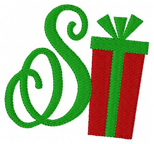 Christmas Gift Monogram Set