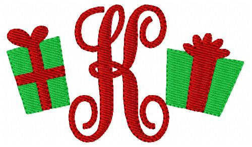 Christmas Gift Mini Monogram Set