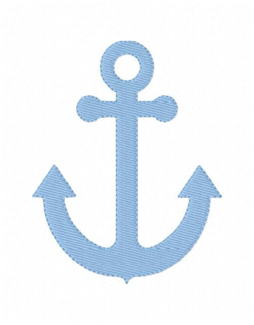 Anchor Machine Embroidery Design