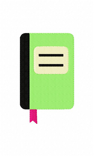 Journal Notebook Embroidery Design