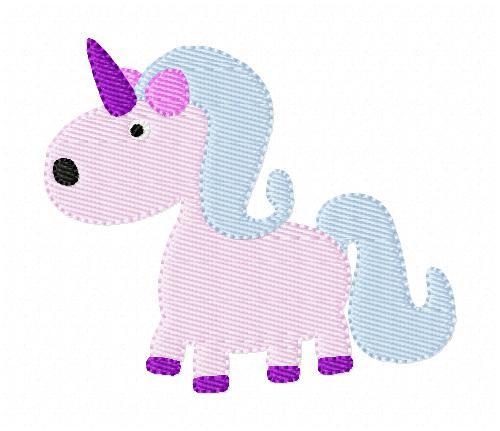 Unicorn Embroidery Design