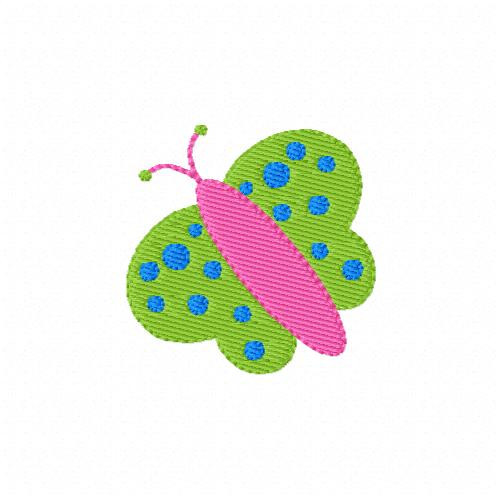 Butterfly 620 Machine Embroidery Design
