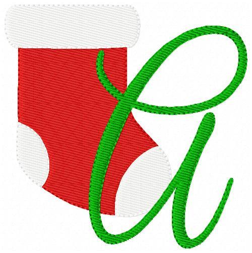 Stocking Stuffer Christmas Monogram Set