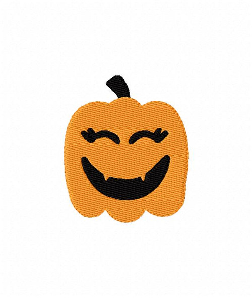 Happy Pumpkin Machine Embroidery Designs