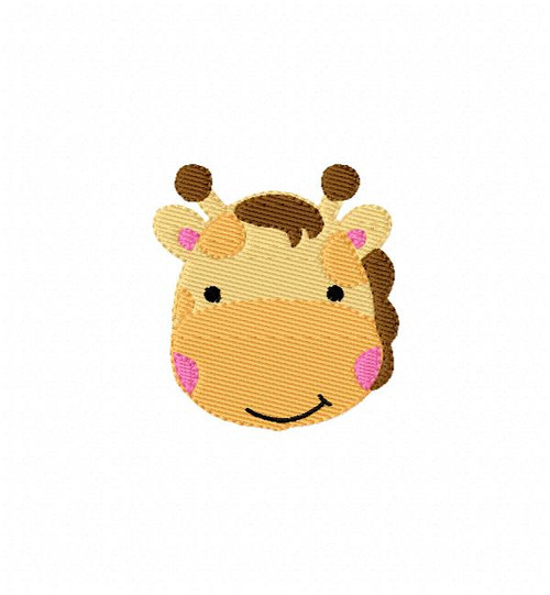 Giraffe Baby Small Embroidery Design