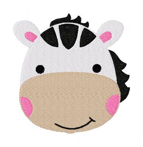 Zebra Baby Cutie Embroidery Design