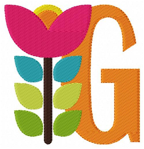 Flower Monogram Set