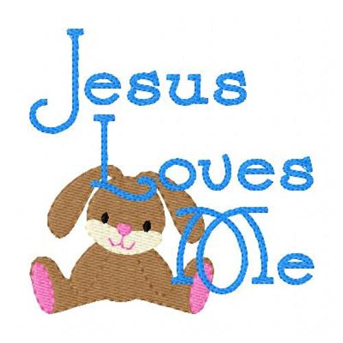 Jesus Loves Me Bunny