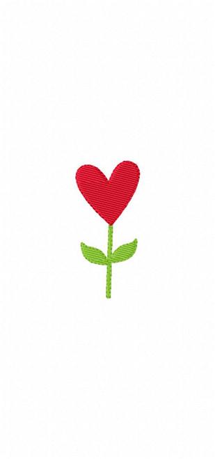 Heart Flower Bloom