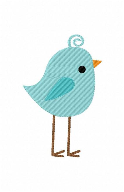 Wee Woodland Birdie Bird