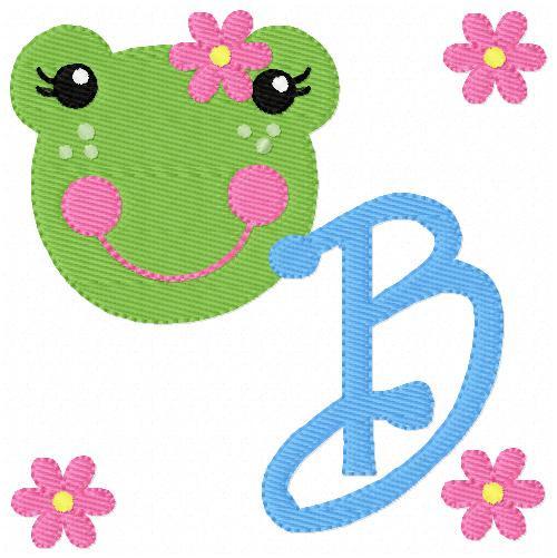 Froggie Cutie Monogram Set